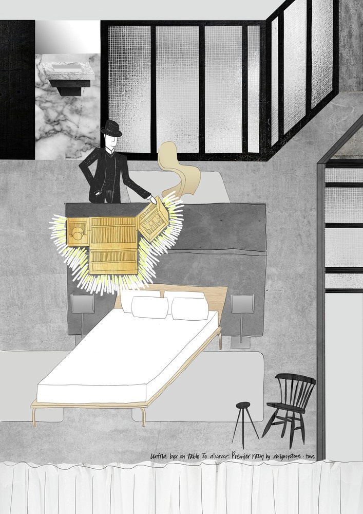 HOTEL TUVE by DESIGN SYSTEMS LTD IN HONG KONG SKETCH ROOMS