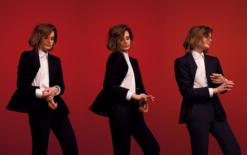 Christine and the Queens on slash it mag