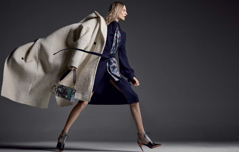 Julia Nobis for Christian Dior Fall_Winter 2016.17 adv campaign on slashitmag fashion 4